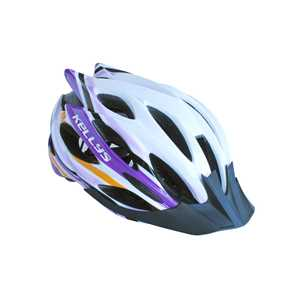 Prilba Dynamic white-alpine purple
