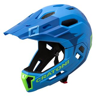 C-MANIAC 2.0 MX - blue-lime matt