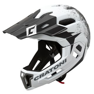 C-MANIAC 2.0 MX - white-black matt